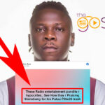 """Putuu P3tw33"" Song By Stonebwoy Is A Trash Riddim Boss Speaks"