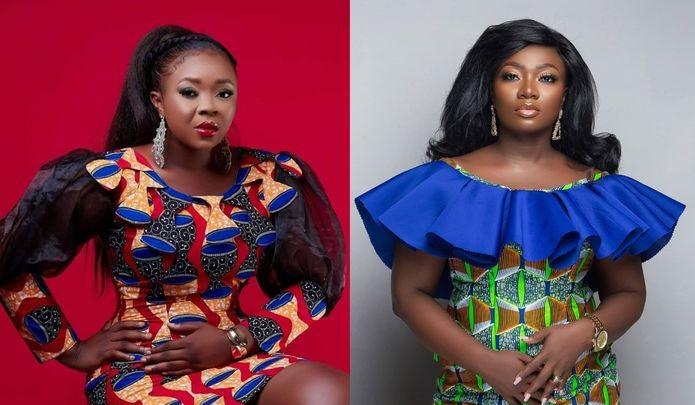 Fire Again! Dr. Kwaku Oteng's 'Daughter' Adu Safowaah Lands Another Hefty Blow At Stacy Amoateng & Threatens To Beat Her (+Screenshots)