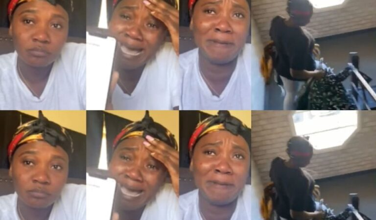 Ghanaian US Based Lady Who Threw Her Husband Out Of Their House Finally Speaks In Tears And Provides The Real Inside Story (Video)