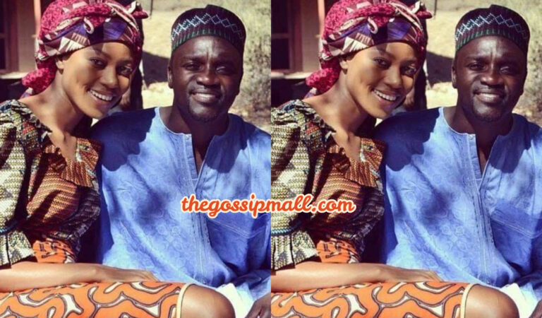 PHOTOS: RnB star Akon and Ghanaian actress Yvonne Nelson on set shooting a movie