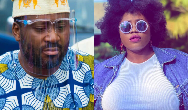 FULL DETAILS: Desmond Elliot's wife allegedly catches him chopping Ghanaian actress, Lydia Forson