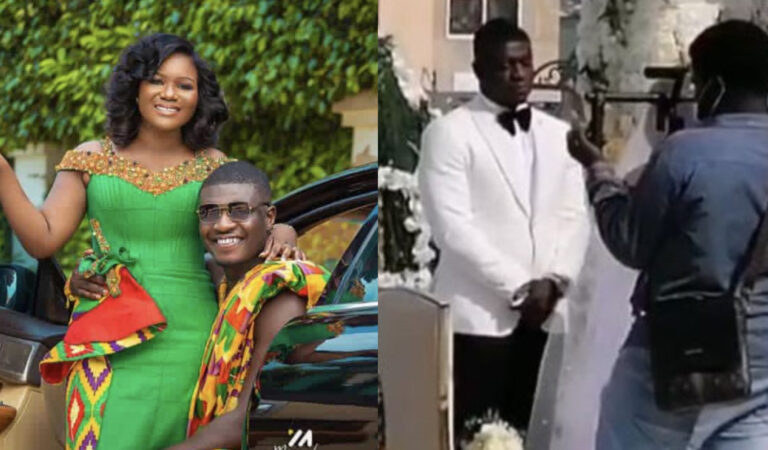 First Exclusive Video From Joy FM's Lexis Bill's Private Wedding Surfaces Online – Watch