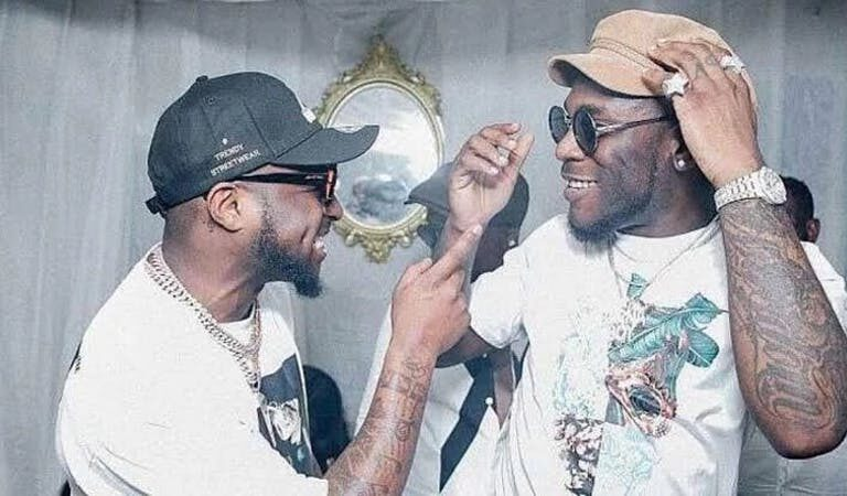 VIDEO: Davido And Burna Boy Bring Their Wahala To Ghana – They Exchange Blows In A Popular Night Club