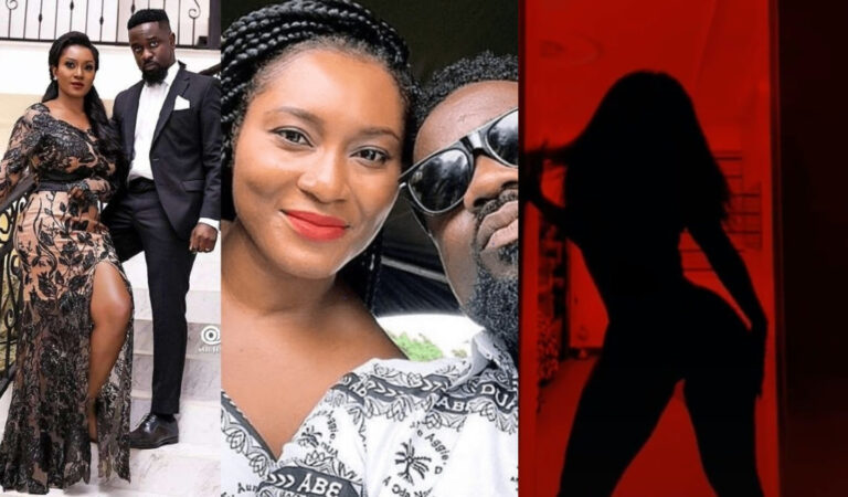 Tracy Sarkcess Replies Her Hubby, Sarkodie After He Asked Her To Join The #Silhouettechallenge