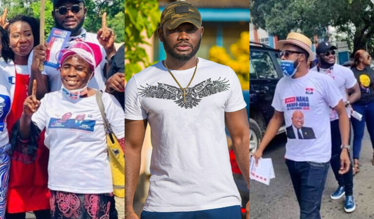 Prince David Osei says he has been a big fool for campaigning for Nana Akuffo Addo