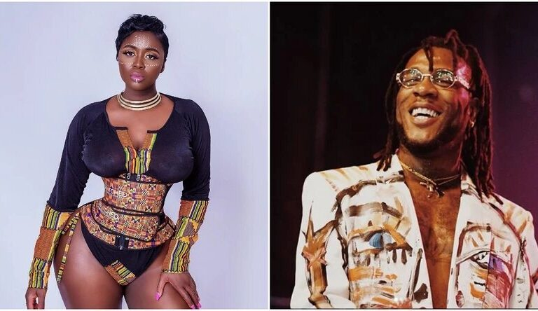 Married Princess Shyngle Shares Int!mate Videos Of Her Time As Lover Of Burna Boy Online Just To Share In His Glory As A Grammy Award Winner