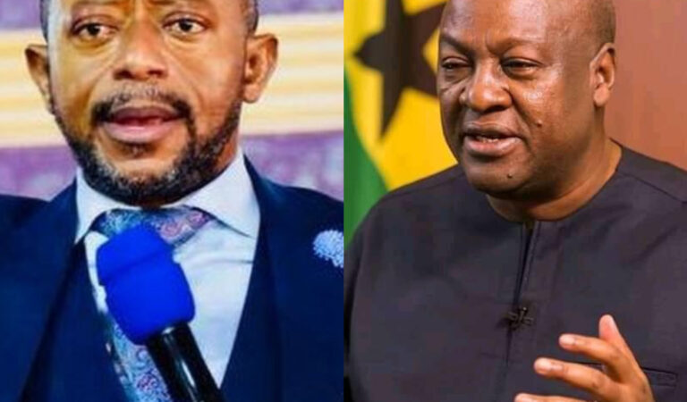 Rev Owusu Bempah makes another shocking prophecy about Mahama's 2024 presidential ambition