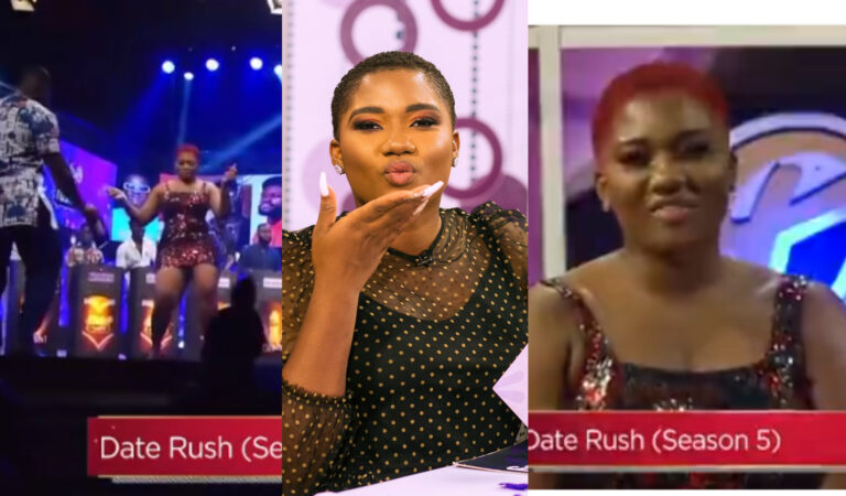 VIDEO: Abena Korkor shockingly boogies with Giovani Caleb as she heads to Date Rush to find love