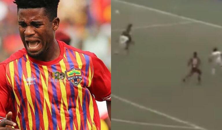 Watch Daniel Afriyie Barnie's goal that sinked Kotoko in Ghana's Super Clash
